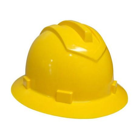 870f5a3ca5110 Capacete Amarelo Aba Total LEDAN - Simão Ferramentas