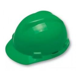 Capacete Verde V-GARD C/ Jugular MSA